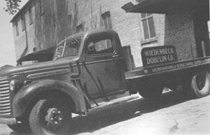 Wiedenbeck Delivery Truck