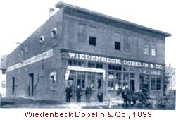 Wiedenbeck Dobelin & Co., 1899